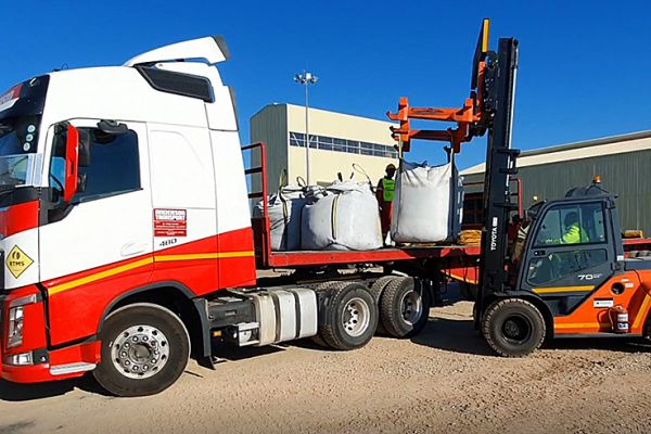 1st Concentrate being loaded for shipment 19th July 2021